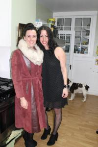 This is my sister and me, at my 40th birthday. Totally oblivious about what was going on in my body.
