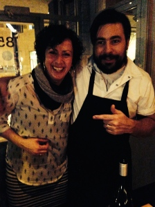 This is the chef from Deer and Almond, a restaurant I always make a point of Winnipeg, which is, thankfully, much less frequent these days. I was a wee bit starstruck.